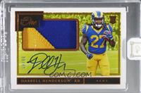 Rookie Patch Autographs - Darrell Henderson [Uncirculated] #/49