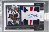 Rookie Dual Patch Autographs - Damien Harris [Uncirculated] #/10