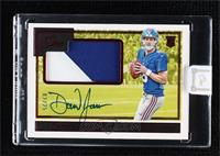 Rookie Patch Autographs - Daniel Jones [Uncirculated] #/25