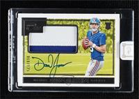 Rookie Patch Autographs - Daniel Jones [Uncirculated] #/125