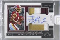 Rookie Dual Patch Autographs - Terry McLaurin [Uncirculated] #/125