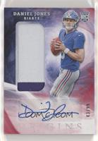 Rookie Jumbo Patch Autographs - Daniel Jones /99