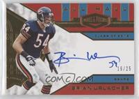 Brian Urlacher [EX to NM] #/25