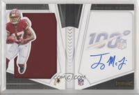 Rookie Playbook Jersey Autographs - Terry McLaurin #/125