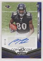 Rookie Autograph Variations - Miles Boykin #/10