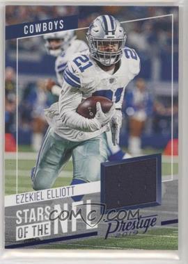 2019 Panini Prestige - Stars of the NFL - Xtra Points Blue #SS-EE.1 - Ezekiel Elliott [EXtoNM]