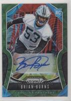 Rookie Autographs - Brian Burns #/75