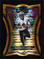 Premier Level Die-Cut - Lamar Jackson #/11