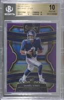 Concourse - Daniel Jones [BGS 10 PRISTINE] #/75