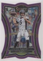 Premier Level Die-Cut - Joe Flacco #/75