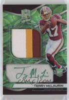 Rookie Patch Autographs - Terry McLaurin #/50