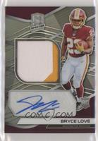 Rookie Patch Autographs - Bryce Love #/99