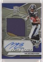 Rookie Patch Autographs - Miles Boykin /99
