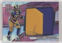 Darrell Henderson #/15