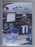 Daniel Jones, Kyler Murray #1/2