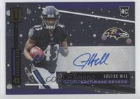Rookie Signatures - Justice Hill