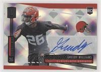 Rookie Signatures - Greedy Williams