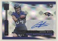 Rookie Signatures - Antoine Wesley