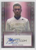 Bryce Young #/2