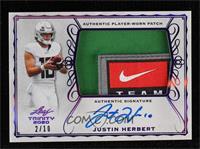 Justin Herbert #2/10