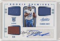 Rookie Premiere Materials - D'Andre Swift #/99