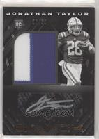 Rookie Patch Autographs - Jonathan Taylor [EX to NM] #/50