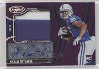 Freshman Fabric Mirror Signatures - Michael Pittman Jr. #/5