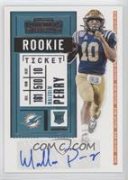 Rookie Ticket - Malcolm Perry