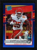 Rated Rookie Preview - Clyde Edwards-Helaire #/125