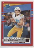 Rated Rookies - Justin Herbert [EX to NM]
