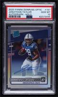 Rated Rookies - Jonathan Taylor [PSA10GEMMT] #99/99