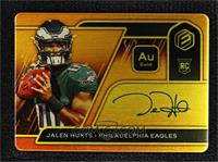 RPS Rookie Steel Signatures - Jalen Hurts [Noted] #/79