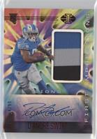 First Impressions Autographed Memorabilia - D'Andre Swift #/99