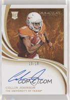 Rookie Autographs - Collin Johnson #/10