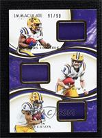 Clyde Edwards-Helaire, Justin Jefferson, Joe Burrow #91/99