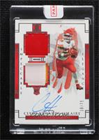 Elgance Rookie Autos - Clyde Edwards-Helaire [Uncirculated] #/75