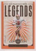 Legends - Joe Montana #/199