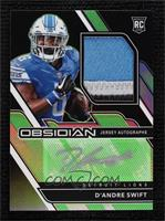 Rookie Jersey Autos - D'Andre Swift #/50