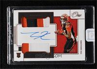 Rookie Dual Patch Autographs - Tee Higgins [Uncirculated] #/49
