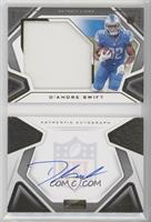 Rookies Playbook Jersey Autographs - D'Andre Swift #/99