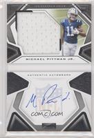 Rookies Playbook Jersey Autographs - Michael Pittman Jr. #/249