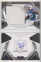 Rookies Playbook Jersey Autographs - Zack Moss #/299