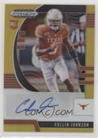 Draft Picks Rookies - Collin Johnson #/10