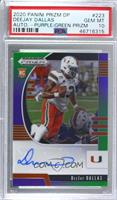 Draft Picks Rookies - DeeJay Dallas [PSA 10 GEM MT] #/199