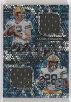 Aaron Rodgers, AJ Dillon #/20