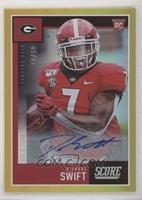 Rookies Signatures - D'Andre Swift #/50