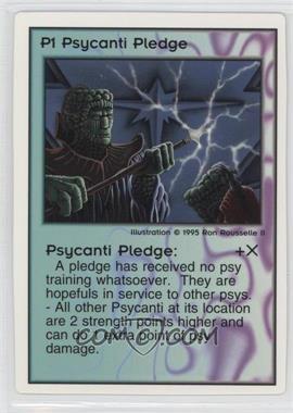 1994 Galactic Empires - Trading Card Game [Base] #P1 - Psycanti Pledge