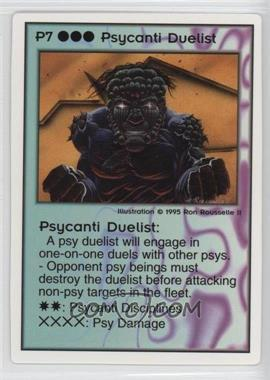 1994 Galactic Empires - Trading Card Game [Base] #P7 - Psycanti Duelist
