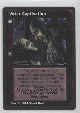 1994 Jyhad (Vampire: The Eternal Struggle) - Limited Edition Base Set #NoN - Voter Captivation