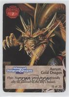 Aurum, Gold Dragon [Noted]